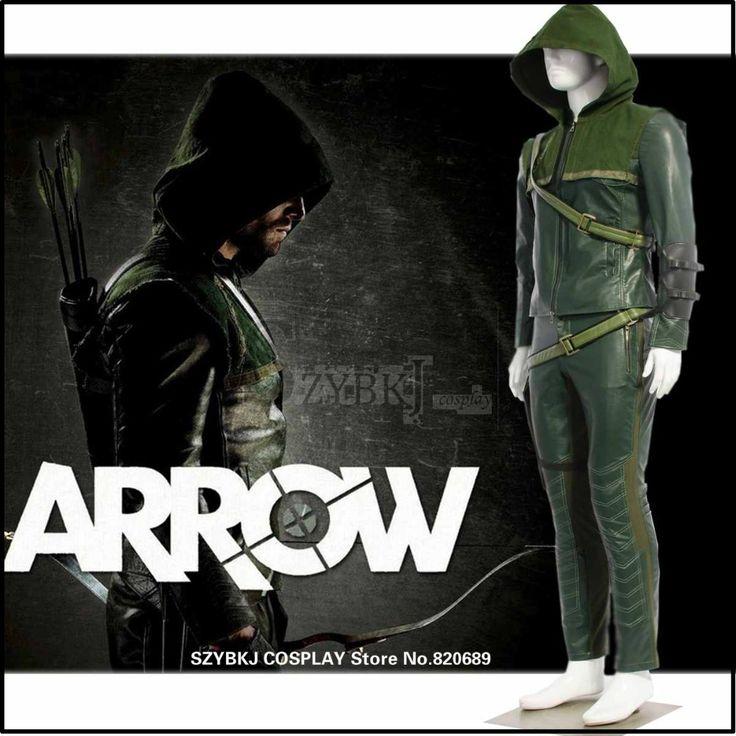 Зеленая стрела оливер куин косплей толстовки костюм зеленая стрела человек оливер косплей куртки зеленая стрела SZYBKJ AA0276