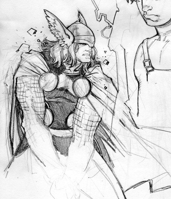 Thor Odinson, God of Thunder (character study)
