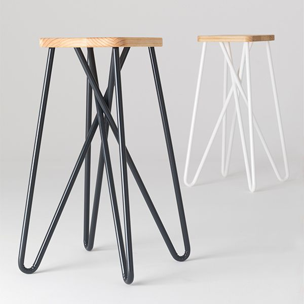 Loving These New Tangle Bar Stools By Clark Bardsley Design. The Stoolu0027s  Looped Legs Provide A Comfortable Resting Place For Feet Without The Need  For ...