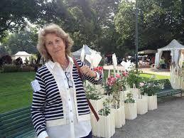orticola 2014 -  La vicepresidente di Orticola, Francesca Marzotto Caotorta.