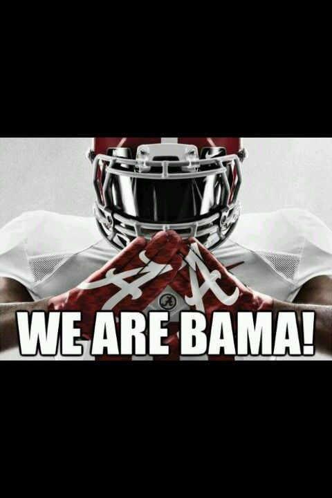 Can't wait for some Alabama Football.  RTR