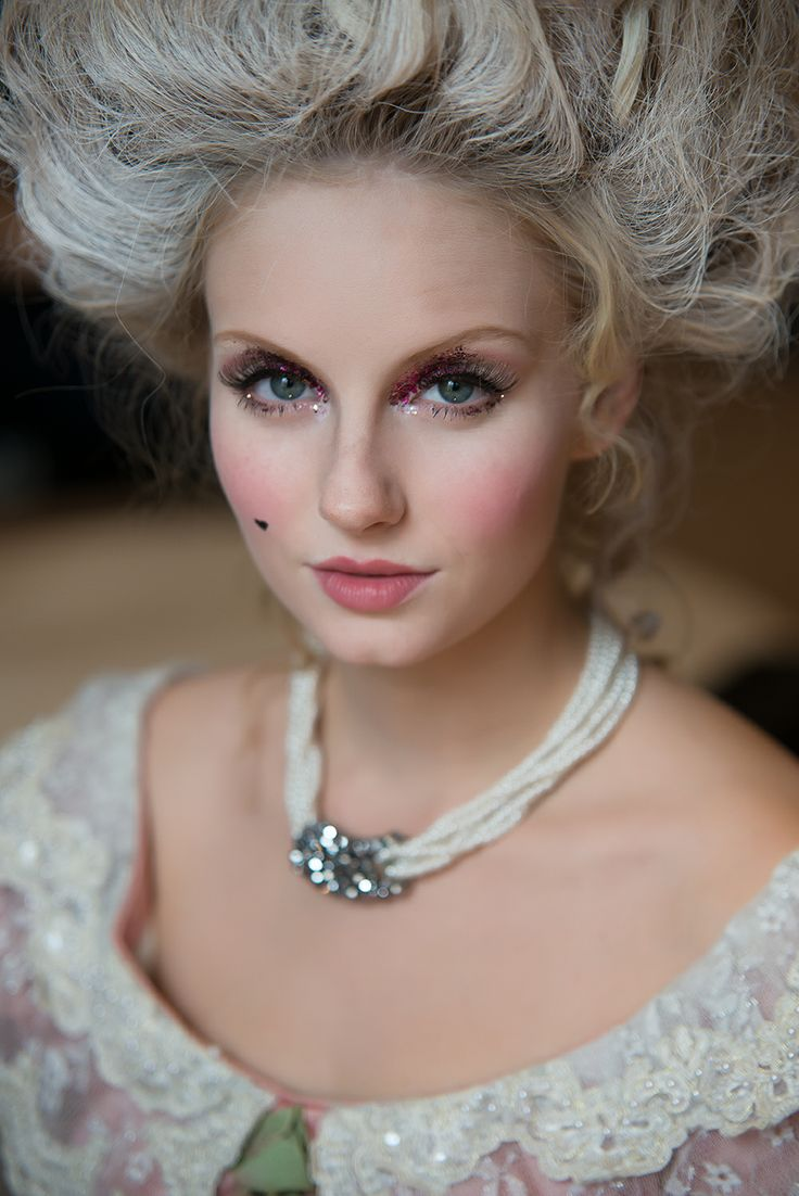 18th century French makeup look   Antoinette   Pinterest