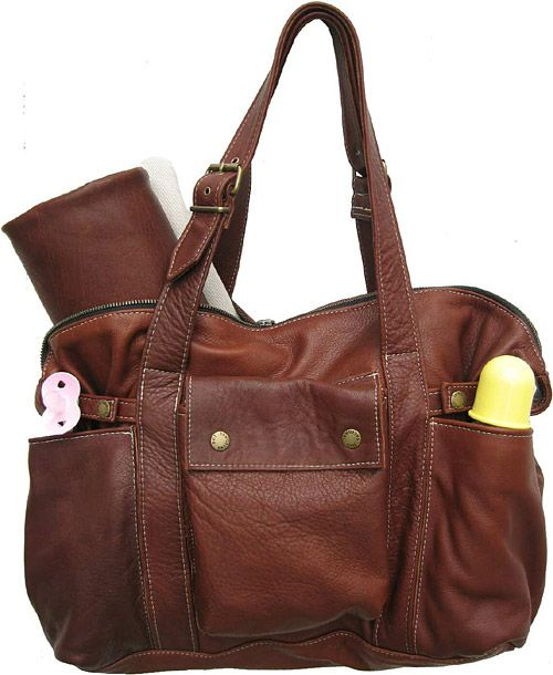 """Not Rational """"Hansel"""" leather diaper bag. I cannot afford this."""