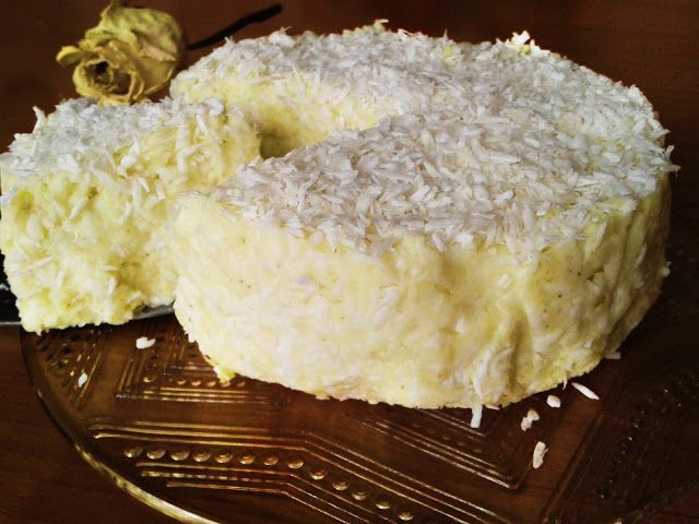 """Kulinaria Borelli: Ciasto kokosowe """"Rafaello"""""""