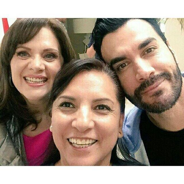 En grabaciones de La Doble Vida #blessed #davidzepeda #buenastardes #actorycantante #grabaciones  #elenco #LaDobleVida