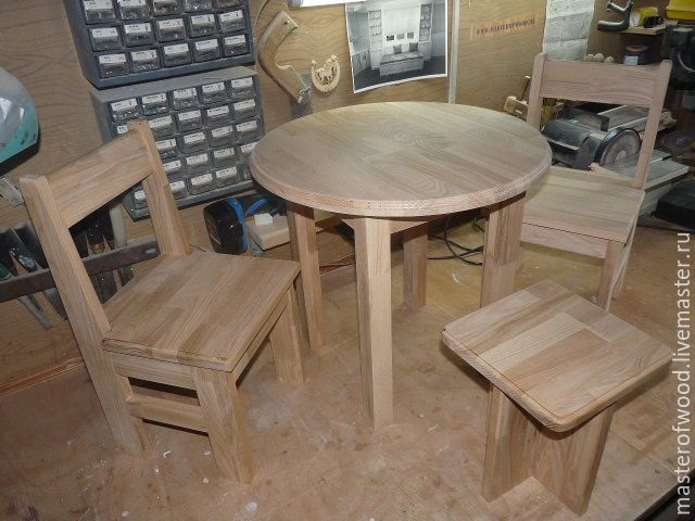 Купить Мебель из дерева для детей - разноцветный, мебель для детей, мебель из дерева, мебель из сосны