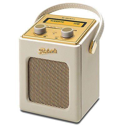 New Roberts Revival Mini FM DAB DAB+ RDS Portable Radio Pastel Cream in Portable Radios | eBay
