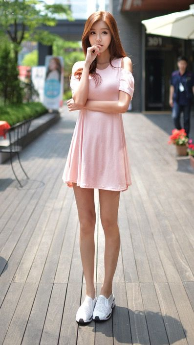 GET THE LOOK - South Korea Airport Fashion Kpop Drama Korean Women OOTD Style, Korea Dress