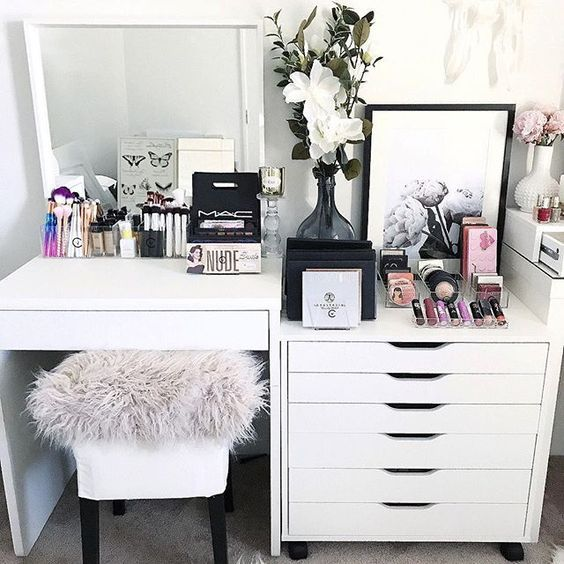 Genius Ikea Hacks For Organizing Your Makeup