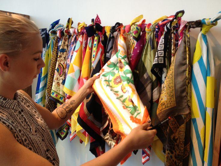 Sjaal of verpakking