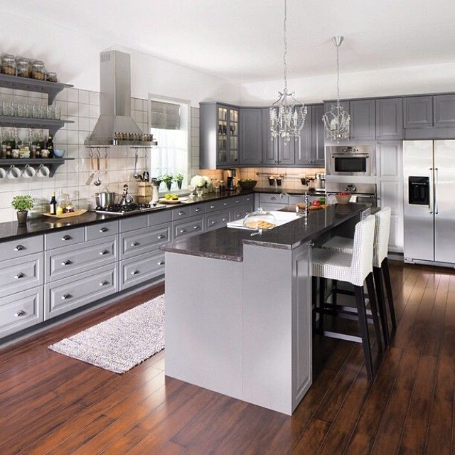 Ikea Usa Kitchen Cabinets: 21 Best Bodbyn Kitchen Images On Pinterest