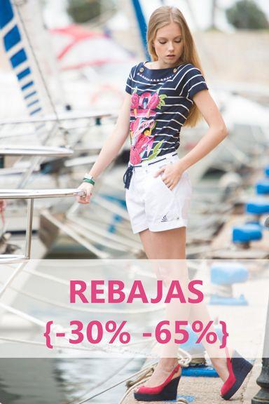 #rebajas #verano #rebajasdeverano #summer #sales #summersales #modaoriginal #originalprints #navystyle #whiteforsummer #navyoutfit #estilomarinero #marinero www.rosalitamcgee.com