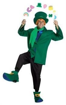Men's Lucky Charms Leprechaun Character Adult Costume - Large