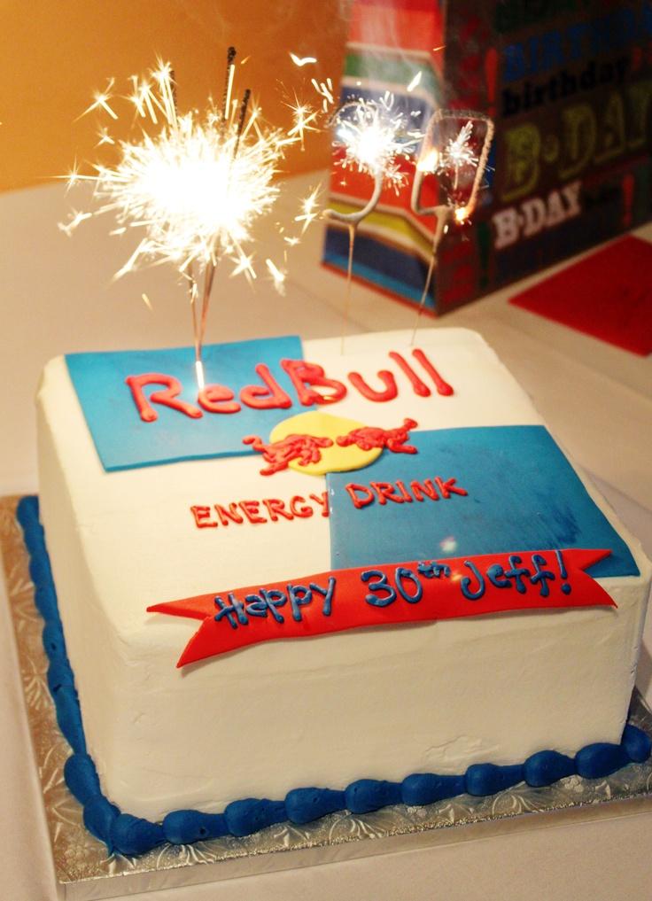 Oder Lieber Ein Red Bull Kuchen Caffeine Obsessed