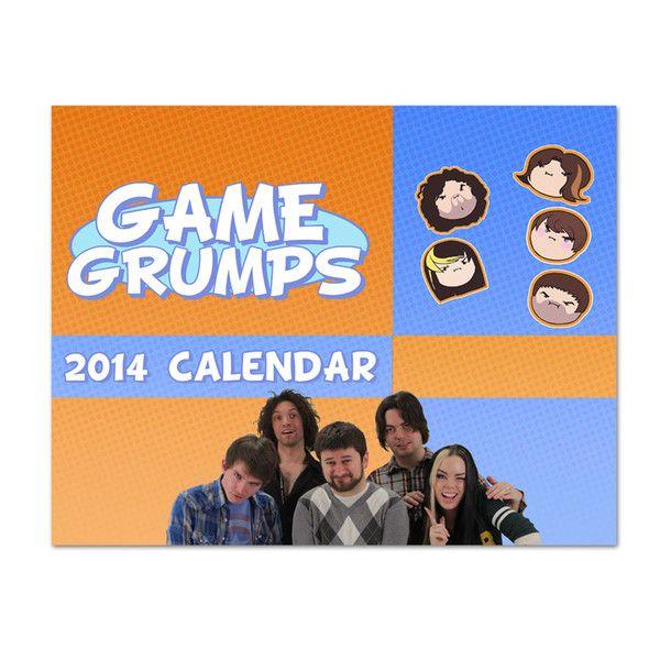 game grumps calendar november