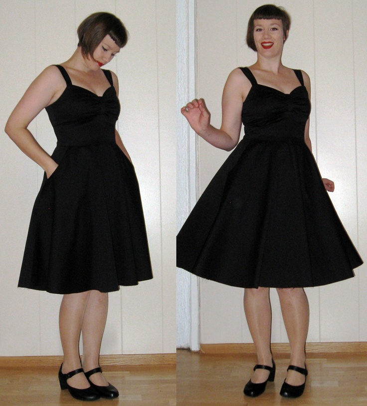New Look 6699. LBD perfect with pockets and a cardigan.