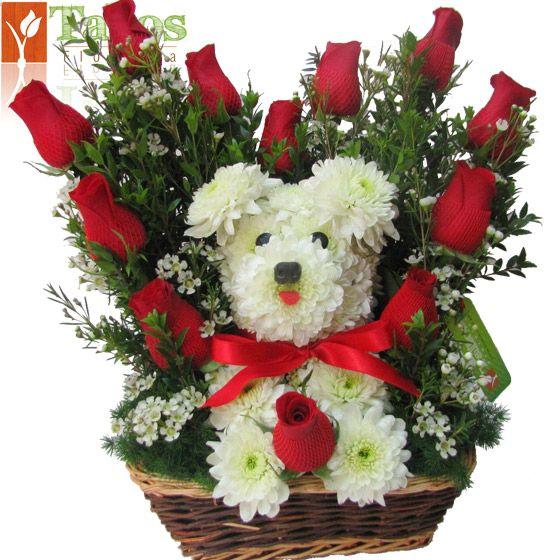 Presente de flores ideal para enamorados