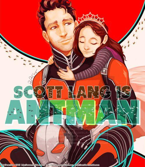 Ant-Man, Scott Lang, Cassie Lang