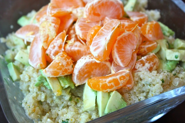 Foodie Girl: Warm Quinoa Salad with Citrus