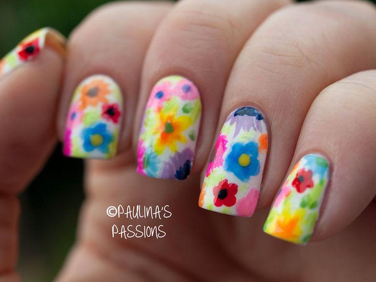 Floral Nail Art - Best 25+ Floral Nail Art Ideas On Pinterest Nail Designs Summer