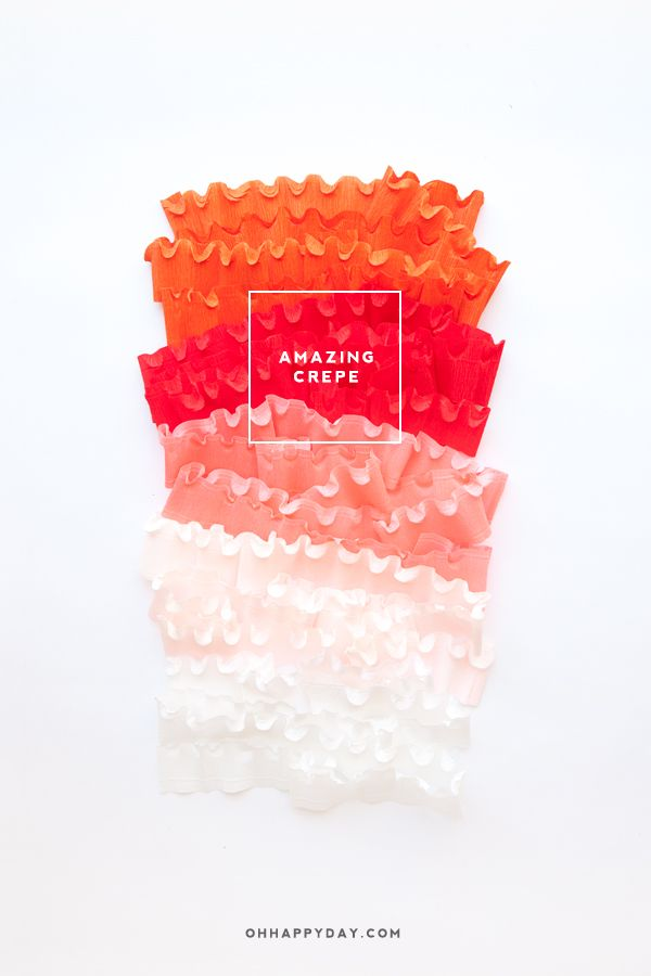 Image Result For Crepe Paper