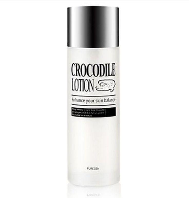 Crocodile Lotion 120ml Brightening Anti Wrinkle Omega&Oleic Acid Natural Betaine #Puregen