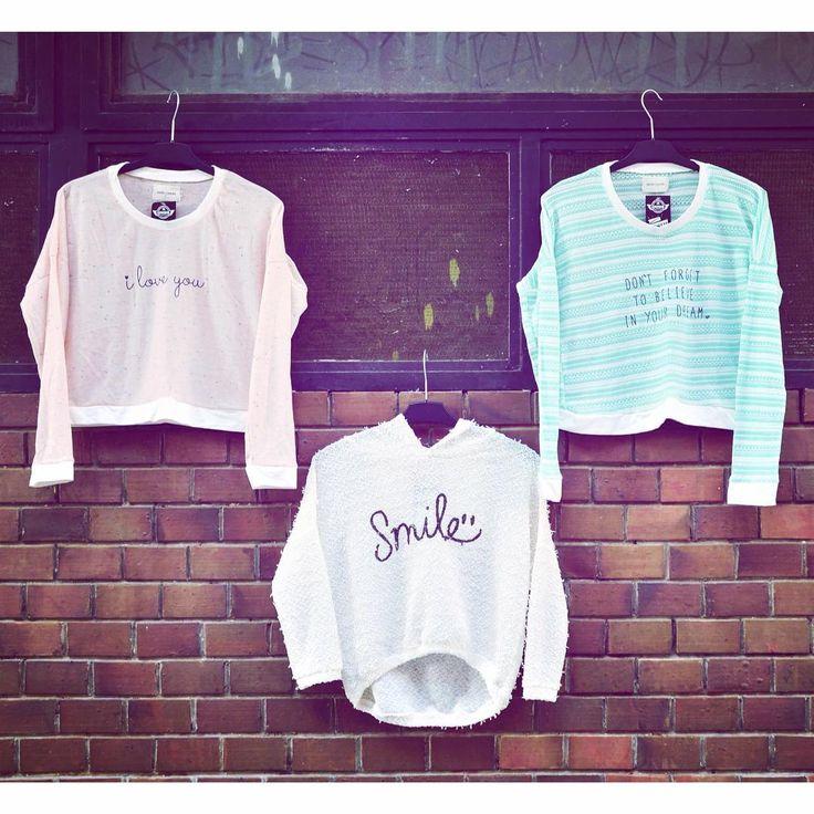 Smile! 😄 #limited #crop #soft #knitted #sweatshirt #collection #szputnyik #szputnyikshop #budapest #dreams #smile #iloveyou #positivevibes #funny #streetstyle