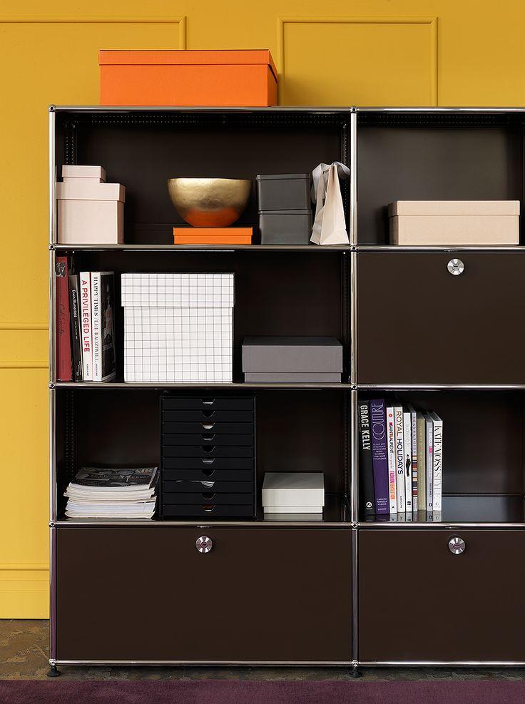 17 meilleures id es propos de tag res m talliques sur pinterest rayonnages m talliques et for Bibliotheque meuble contemporain