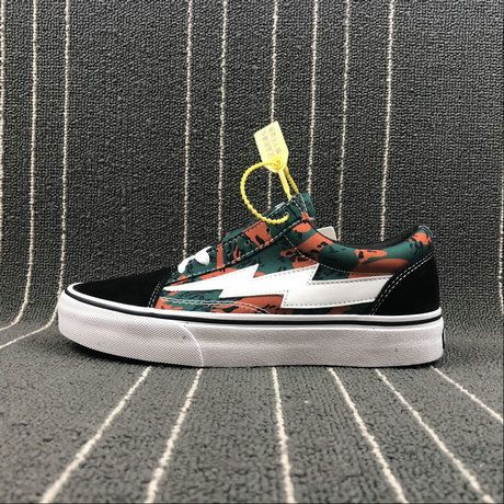 3ee527acb5 Retailmenot Coupon Vans Old Skool Revenge x Storm Pop up Blue Black Camo  Orange 6711 WMP001 Skate Shoe Vans For  Vans