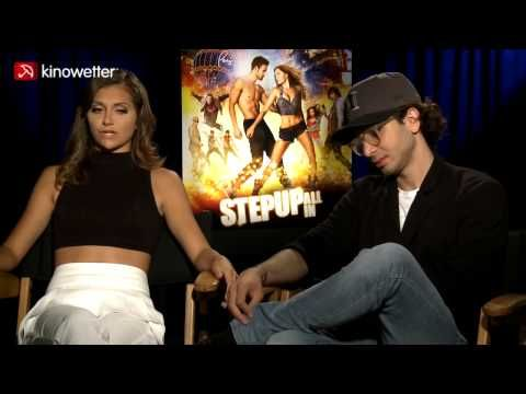 Interview Alyson Stoner & Adam G. Sevani STEP UP ALL IN - YouTube