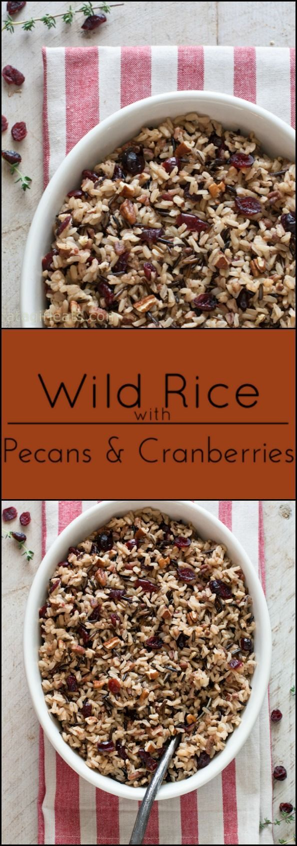 Cranberry Pecan Wild Rice makes a nice gluten-freealternative to stuffing. I make this Cranberry Pecan Wild Ricewhen I want something a little bit fancier than basicRice Pilaf or Roasted Potatoes. It pairs perfectly withSlow-cooker Cornish Game Hens with Grand Marnier Sauce. But italso just feels like the perfect American side dish, with crunchy toasted pecans...Read More »