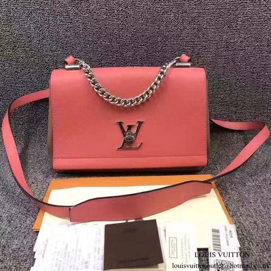 Louis Vuitton M42278 Lockme II BB Shoulder Bag Taurillon Leather ... bd18b73fc3f8d