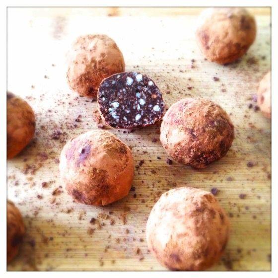 Verwarmende Chocoladetruffels met Kardemom