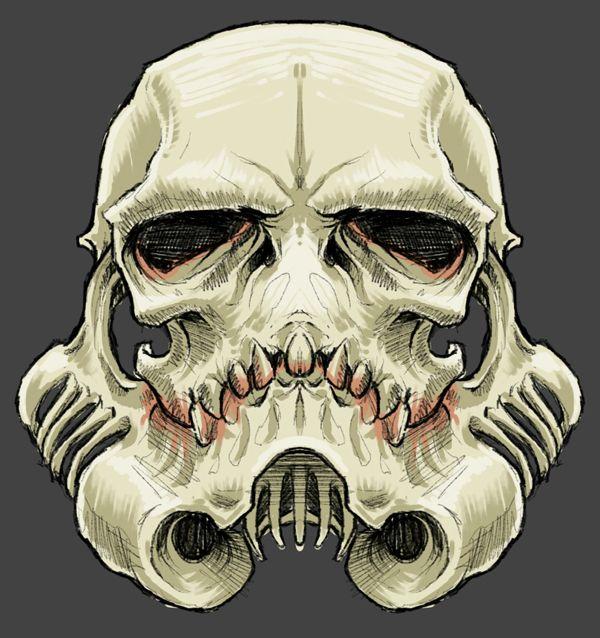 """The SkullTrooper"", Inspired by Star Wars: Stormtrooper on Behance"