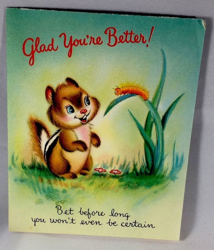Vintage Greeting Card ~Cute Chipmunk And Caterpillar ~ Mid Century FOR SALE • $3.59 • See Photos! Money Back Guarantee. Vintage Greeting Card look to photos for details. Combine shipping terms: First card regular shipping and handling, each additional card .25 201858135649