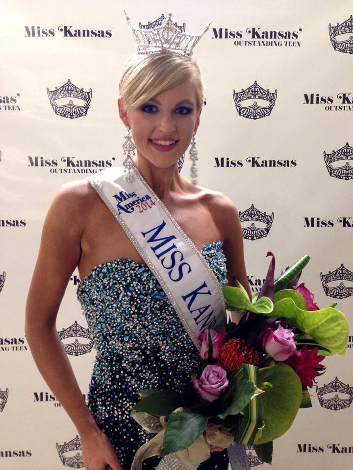 Amanda Sasek Crowned Miss Kansas 2014