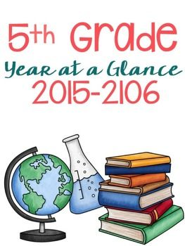 Fifth Grade Pacing Guide Editable (Includes full pacing guide) Free!