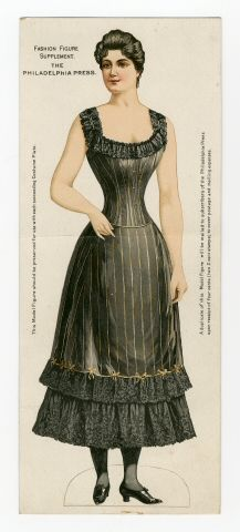 75.2361: Fashion Figure | paper doll | Paper Dolls | Dolls | National Museum of Play Online Collections | The Strong