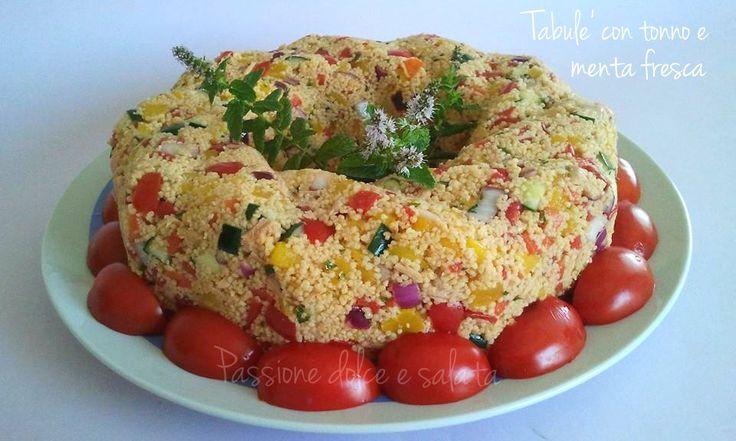 Eccezionale piatto unico freddo senza cottura...il massimo nella stagione estiva!