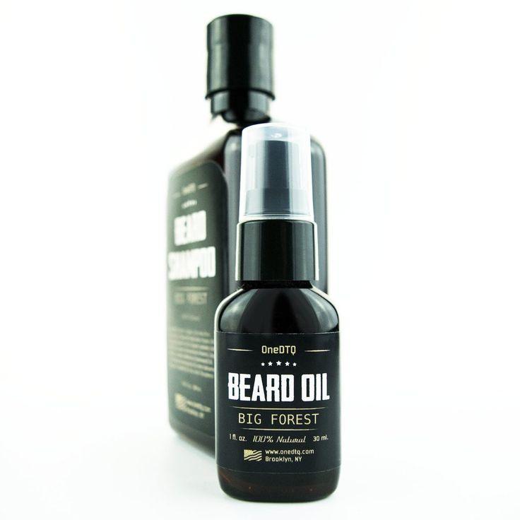 Beard Growth Oil - Big Forest Beard Oil | by OneDTQ – OneDTQ - Best Beard Care