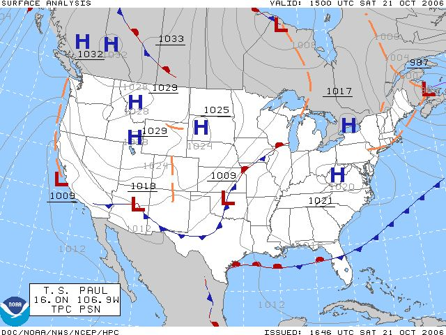 How to Read a Weather Map in 5 Steps