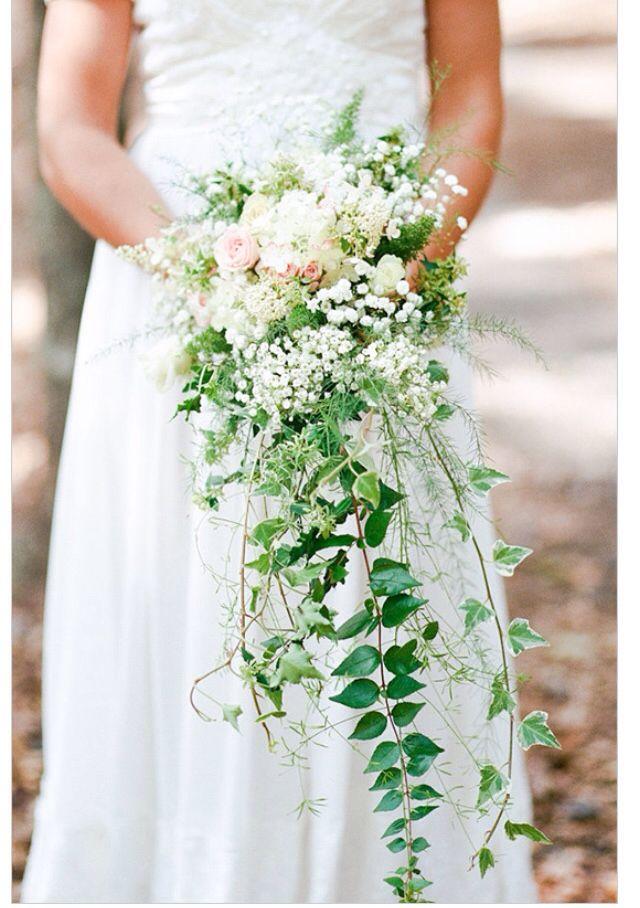Букет каскад свадебный