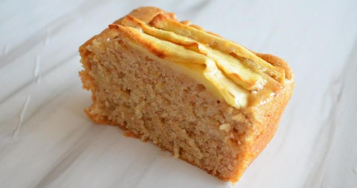 Tarta de manzana sin gluten ni lactosa