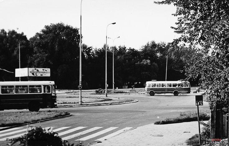 pl. Kotlarza Romana, ks., Radom - 1975 rok, stare zdjęcia