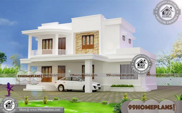 Two Story Homes Designs Small Blocks 50 Modern Home Plans Free Modern House Plans House Design Pictures House Design