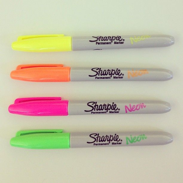 #sharpiecolor in neon - proofs will never be the same!