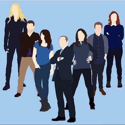 Bobbi Morse, Lance Hunter, Skye, Phil Coulson, Melinda May, Leo Fitz, Jemma Simmons || by vibraniumshield || #fanart