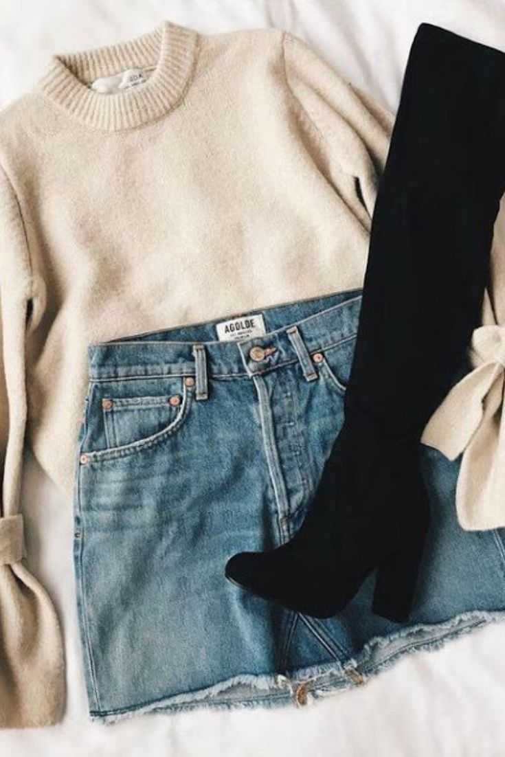 Niedliche Outfits für die Schule #FALL #AUTUMN #FASHION #OUTFITS #CLOTHES