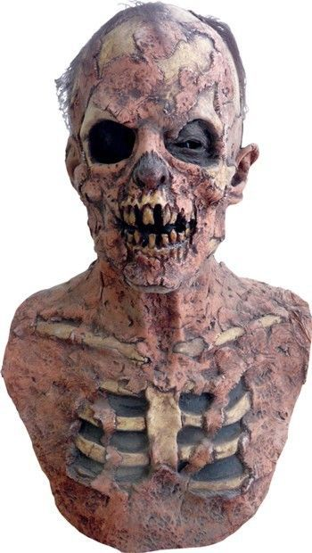HALLOWEEN HORROR MOVIE PROP Zombie Mask - ZOMBIE GROUND BREAKER MASK