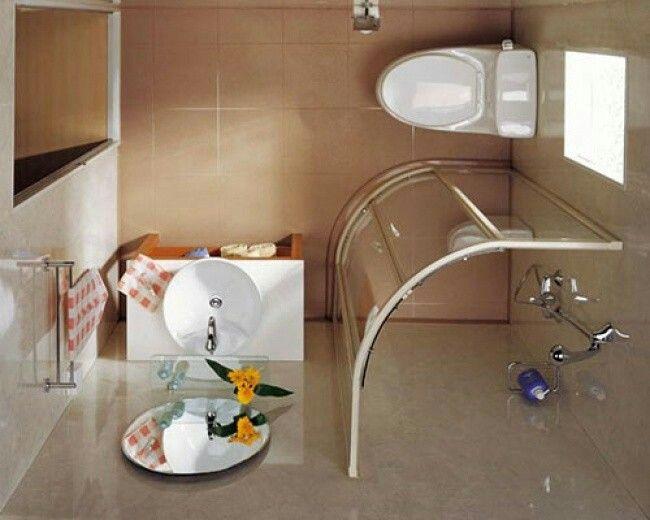 17 mejores ideas sobre ba os muy peque os en pinterest for Ideas para banos con ducha